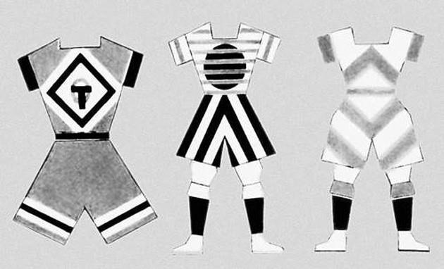 Проект моделей спортивной одежды. Варвара Степанова, 1925