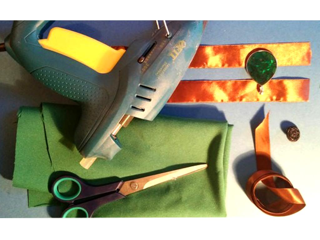 Рисунок 2. Подготовка инструментов и материалов