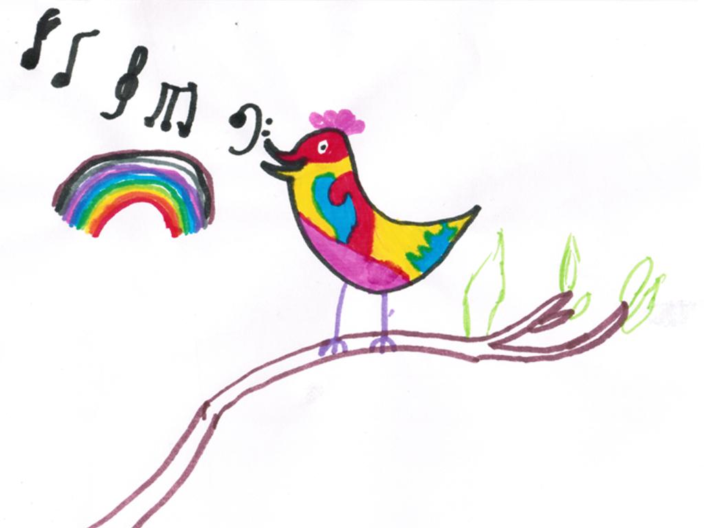 Рисунок Лики Преображенской, 7 лет