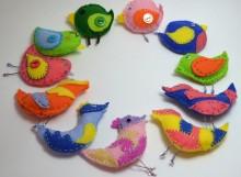 Птички - подвески